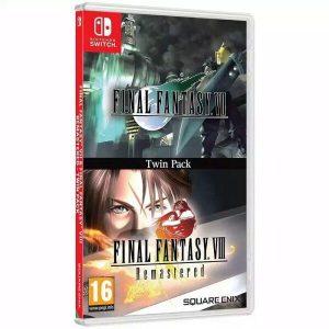 Игра Final Fantasy VII & Final Fantasy VIII Remastered для Nintendo Switch