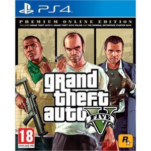 Игра Grand Theft Auto V. Premium Edition [PS4