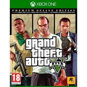 Игра Grand Theft Auto V. Premium Edition [Xbox One