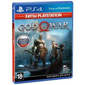 Игра PS4 God of War HITS [PS4