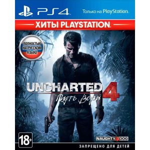 Игра Uncharted 4: Путь вора (Хиты PlayStation) для PlayStation 4