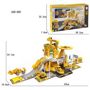 Игровой набор SixSixZero Строители 660-A85