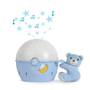 Игрушка-проектор CHICCO Звезды (голубой)