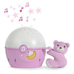Игрушка-проектор CHICCO Звезды (розовый)