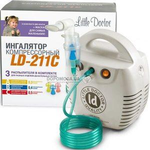 Ингалятор компрессорный LITTLE DOCTOR белый LD-211C