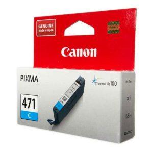 Картридж Canon CLI-471C для Canon PIXMA MG5740