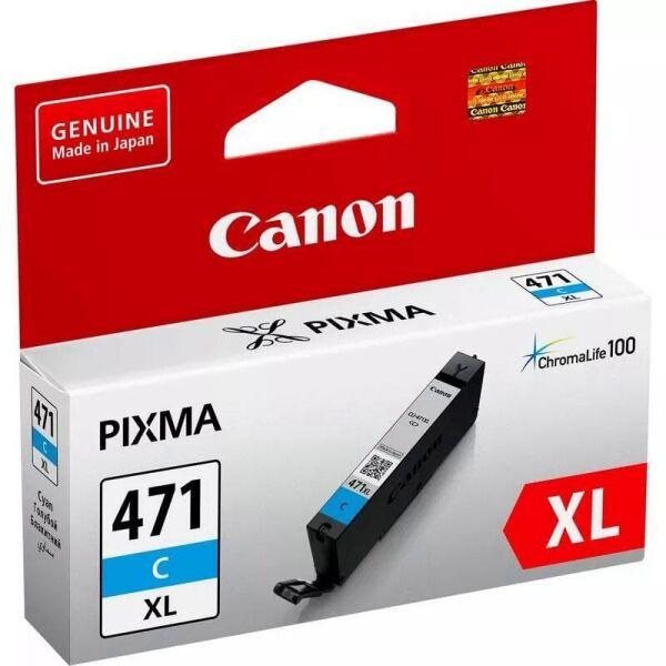 Картридж Canon CLI-471XL C для Canon PIXMA MG5740