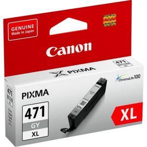 Картридж Canon CLI-471XL GY для Canon PIXMA MG5740
