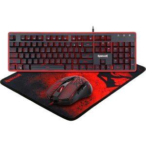 Клавиатура + мышь с ковриком Redragon S107