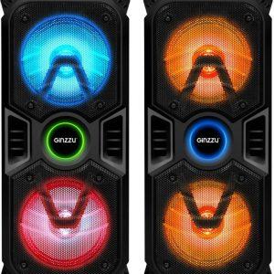 Колонки Bluetooth GINZZU GM-207