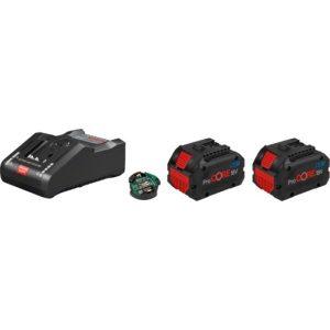 Комплект аккумуляторов с зарядным устройством Bosch ProCORE18 V+GAL 18V-160 C (1600A016GP)