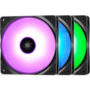 Комплект вентиляторов DeepCool RF 120 (DP-FRGB-RF120-3C)