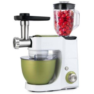 Кухонная машина KITFORT КТ-1332-1 4 в 1 (фисташковый)
