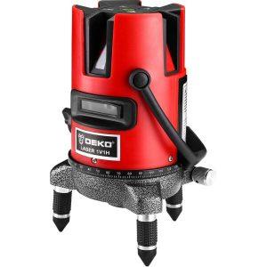 Лазерный нивелир Deko DKLL02RB Set 4 (065-0273)