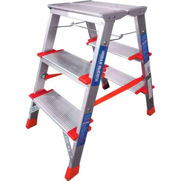 Лестница-стремянка индустриальная Новая высота NV512 (5120203)