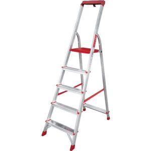 Лестница-стремянка профессиональная Новая высота NV315 (3150105) с лотком-органайзером