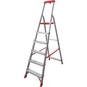 Лестница-стремянка профессиональная Новая высота NV315 (3150106) с лотком-органайзером
