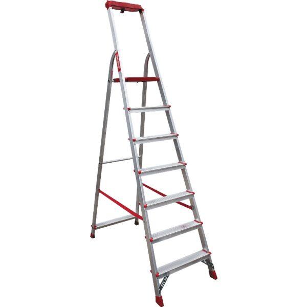 Лестница-стремянка профессиональная Новая высота NV315 (3150108) с лотком-органайзером