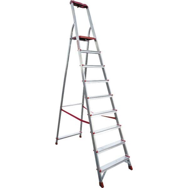 Лестница-стремянка профессиональная Новая высота NV315 (3150110) с лотком-органайзером