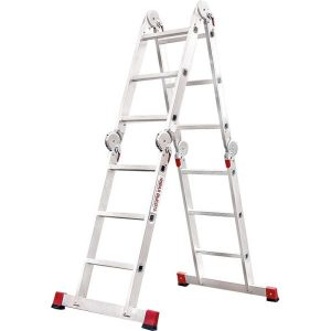 Лестница-трансформер профессиональная с помостом Новая высота NV333 (3330403)