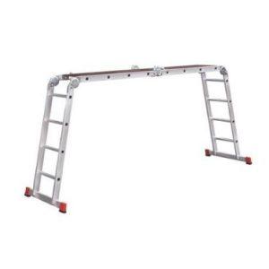Лестница-трансформер профессиональная с помостом Новая высота NV333 (3330405)