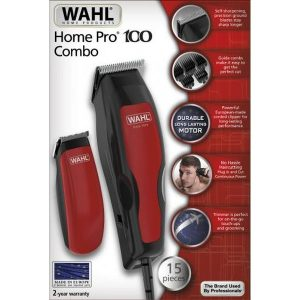 Машинка для стрижки + триммер Wahl Home Pro 100 Combo (1395.0466)