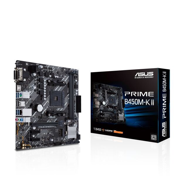 Материнская плата ASUS Prime B450M-K II