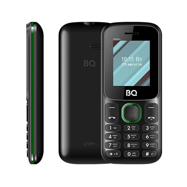 Мобильный телефон BQ-Mobile BQ-1848 Step+ (черный/зеленый)