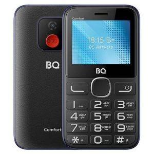 Мобильный телефон BQ-Mobile BQ-2301 Comfort (черный/синий)