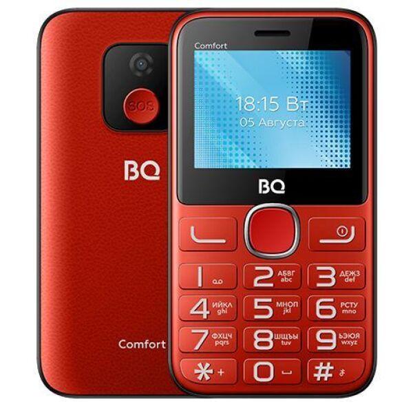 Мобильный телефон BQ-Mobile BQ-2301 Comfort (красный/черный)