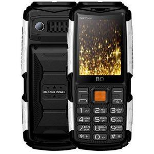 Мобильный телефон BQ-Mobile BQ-2430 Tank Power (черный/серебро)