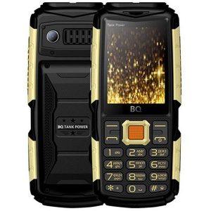 Мобильный телефон BQ-Mobile BQ-2430 Tank Power (черный/золотой)