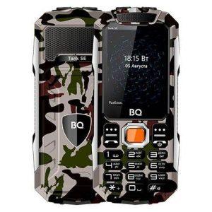 Мобильный телефон BQ-Mobile BQ-2432 Tank SE (армейский зеленый)