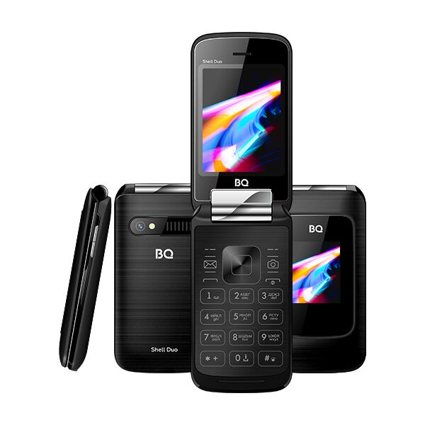 Мобильный телефон BQ-Mobile BQ-2814 Shell Duo (черный)