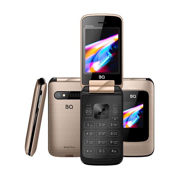 Мобильный телефон BQ-Mobile BQ-2814 Shell Duo (золотистый)