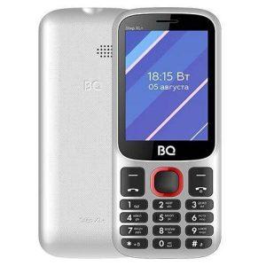 Мобильный телефон BQ-Mobile BQ-2820 Step XL+ (белый/красный)