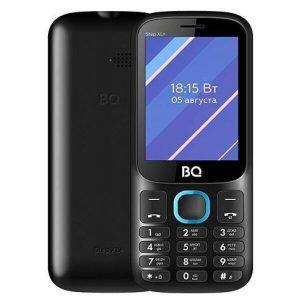 Мобильный телефон BQ-Mobile BQ-2820 Step XL+ (черный/голубой)