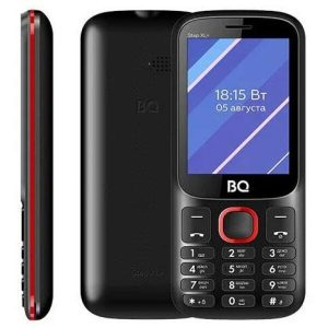 Мобильный телефон BQ-Mobile BQ-2820 Step XL+ (черный/красный)