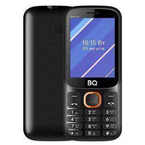 Мобильный телефон BQ-Mobile BQ-2820 Step XL+ (черный/оранжевый)