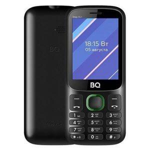 Мобильный телефон BQ-Mobile BQ-2820 Step XL+ (черный/зеленый)