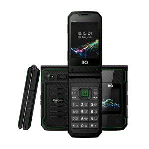 Мобильный телефон BQ-Mobile BQ-2822 Dragon (черный/зеленый)