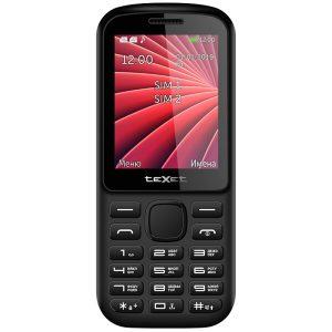 Мобильный телефон TeXet TM-218 черный-красный