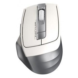 Мышь A4TECH FSTYLER серебристый/белый
