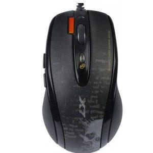 Мышь игровая A4Tech V-Track F5 (чёрный/рисунок)