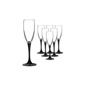 Набор бокалов для шампанского Luminarc Домино 10H8167