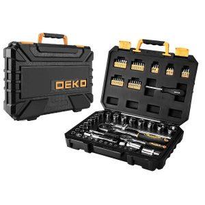 Набор инструмента для авто в чемодане Deko DKMT72 SET 72