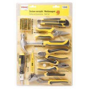 Набор инструментов WMC Tools 1049 (49 предметов)
