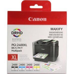 Набор картриджей Canon PGI-2400XL BK/C/M/Y для Canon MAXIFY iB4040
