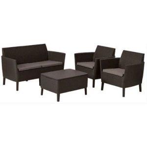 Набор мебели Keter Salemo 2 (коричневый)