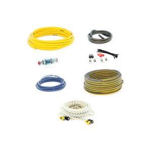Набор проводов для подключения 2-хканального усилителя Swat PAC-T8